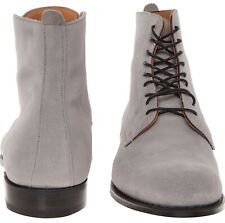NEW CHEANEY GREY SUEDE BOOTS, SIZE 10 F