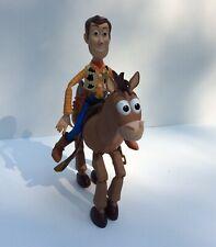 Toy Story Bullseye + Woody 1996 Disney Pixar Mattel Horse Moving Legs Vintage