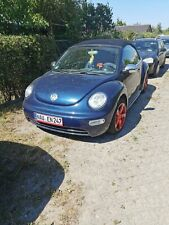 VW New Beetle Cabrio 2003 Benzin Gas