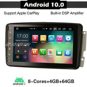 "8-Core 8""CarPlay Android 10 Car Stereo Mercedes C/CLK/G Class W203 W209 Vito DAB"