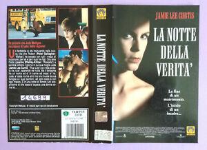 Solo Copertina Fascetta Inlay LA NOTTE DELLA VERITA' no vhs dvd lp cd mc