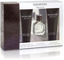 3pc Gift Set Kenneth Cole Mankind 1oz EDT Men Spray WASH / Balm  NIB (344)