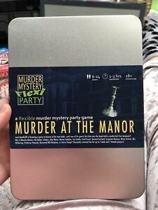 Murder at the Manor -Murder Mystery Flexi Dinner Party for 6-14 Players