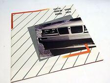 1987 Pontiac Acadian Firefly Grand Am Sunbird Brochure