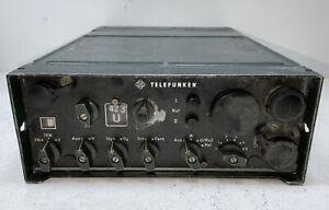 Telefunken FUG7b Funkgerät Funk Feuerwehr Polizei Alt