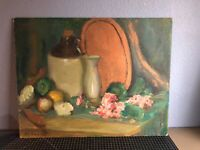 Original Oil Painting - Still Life - Listed Artist Mae Huffman Duquette