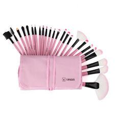 24 piezas Profesional Brocha para maquillaje Kit Set cosmetico belleza + Bolso