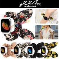 For Fitbit Versa/Versa 2/Versa Lite Scrunchie Soft Butterfly Loop Band Strap AU