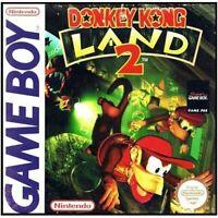 Donkey Kong Land 2 - Nintendo Game Boy GB