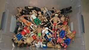 WWF/WWE/WCW/ECW Jakks/Mattel/Marvel Wrestling Figure Grab Bag Lot Please Read