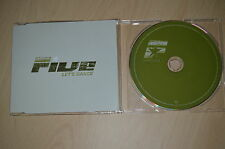 Five ‎– Let's Dance. CD-Single promo (CP1710)