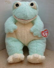 TY PILLOW PAL Frogbaby - PLUSH  BABY RATTLE - VGC