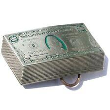 Buckle 100-Dollar-Scheine, US-Banknoten, USA, Gürtelschnalle