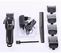 Hair Clipper Man Adjustable Haircutting Rechargeable Trimmer Hairdressing Kits