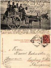CPA Tipi Siciliani . ITALY (494186)