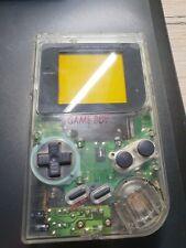 Nintendo Game Boy Classic Konsole Clear Transparent Gameboy DMG-01 Tetris