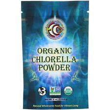 Earth Circle Organics Chlorella Powder Raw Organic 4 oz 113 g Kosher, Organic,