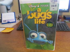 A Bug's Life VHS Disney~ Pixar   New Factory Sealed Clamshell Free Shipping