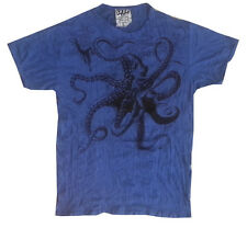 Short sleeve Men t shirt Yoga Octopus Sea Nature Ocean Retro Hippie Sure  L love