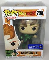 Funko Pop Dragonball Z Android 16 Metallic 708 Walmart Exclusive #8