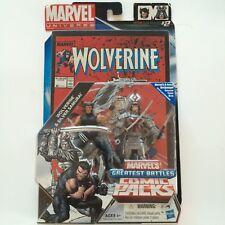 "Marvel Universe Wolverine & Silver Samurai 3.75"" Action Figure Comic Pack"