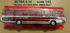 SETRA S 14 année 1959 Autobus et Autocar du Monde 1/43 NEUF n° 86