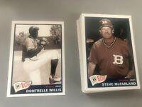 2001 Boise Hawks Grandstand 32 Card Team Set Dontrelle Willis Cubs Minor League