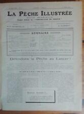 La Pêche Illustrée -  Officiel du Fishing Club de France  24 N° - 1924-25