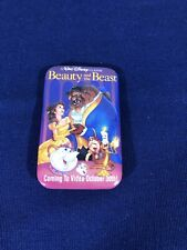 Beauty and the Beast Walt Disney Video Promotion Pin