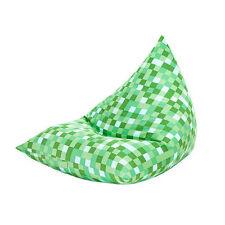 Poufs, poires et meubles gonflables vert pour enfant