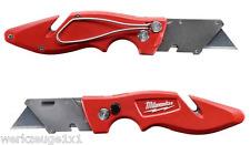 Universal-Klappmesser von Milwaukee Cuttermesser Trapetzklinge 48221901