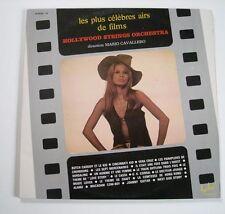 Les PLUS CELEBRES AIRS DE FILMS Hollywood Strings Orchestra(2 vinyles / 2 LP)