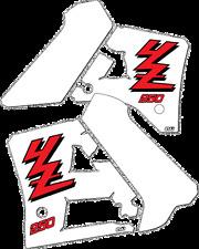 YZ250 1989 Rad & Tank Decals Graphics Stickers YZ 250