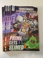 Transformers Ghostbusters Ashcan #1 Nick RocheVariant Promo Hasbro IDW 2019 BOGO