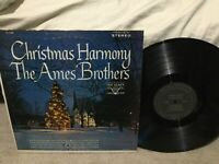The Ames Brothers: Christmas Harmony LP on VOCALION Label VL-73788 from 1957