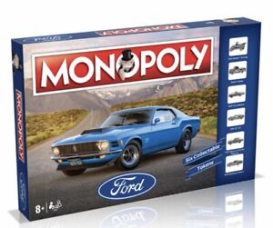 MONOPOLY - FORD EDITION SEALED - New In Box