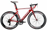 Aluminium Frame Road Bike 14 Speed Mens Bikes 54cm Bicycle Red Hiqh quality