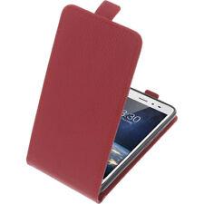Custodia Per Tp-Link Neffos X1 Lite Custodia Cellulare Modello Flip Rosso