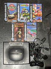 Sega Saturn Konsole & 5 Spiele PAL