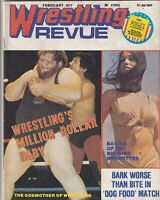 Wrestling Revue Magazine Million Dollar Baby February 1977 061419nonr