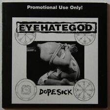Eyehategod Dopesick Rare Adv Cardcover CD 1996 Metal