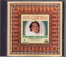 Nusrat Fateh Ali Khan - Sufi Qawwali Vol 64 - CD (CDSR365 1997 U.K.)
