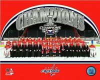 """Washington Capitals Stanley Cup Champions Team Photo (Size: 8"""" x 10"""")"""