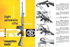 FN FAL Light Automatic Rifle Competition Model Manual (in English)