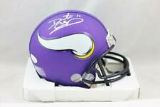 Daunte Culpepper Autographed Minnesota Vikings Mini Helmet - JSA W Auth *White