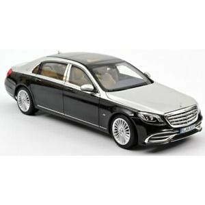 Mercedes Maybach S650 2018 Black Metallic / Silv 1/18 - 183427 NOREV