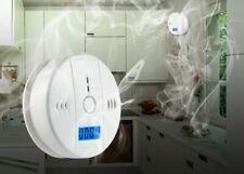 Gas Detector Sensor Alarm Natural Leak Propane Butane Methane Safe Smart Lpg New