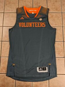 Tennessee Volunteers 13/14 Smokey Team Issue Blank Men's Basketball Jersey sz XL