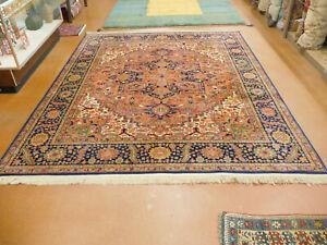 heriz rug Karastan superb rug lovely carpet 8.8x10.6  gently used 726