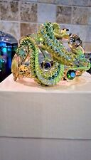 KIRKS FOLLY DRAGONS IN THE MIST CUFF BRACELET  NWT    GOLD TONED  AVERAGE